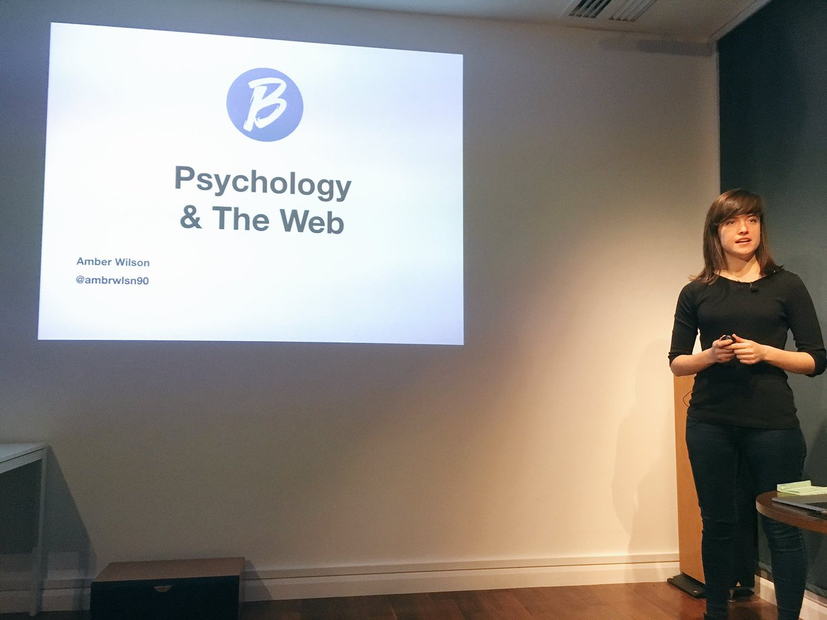 It was amazing to get to see @ambrwlsn90 speak at #bytesconf tonight. She is a brilliant speaker! 🙌🏻