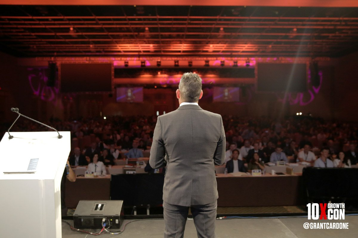 &quot;I never say no, until I have to!&quot; - GC    http:// 10XGrowthCon.com  &nbsp;    #10XGrowthCon #10X #PublicSpeaking <br>http://pic.twitter.com/B44pJOoJcx