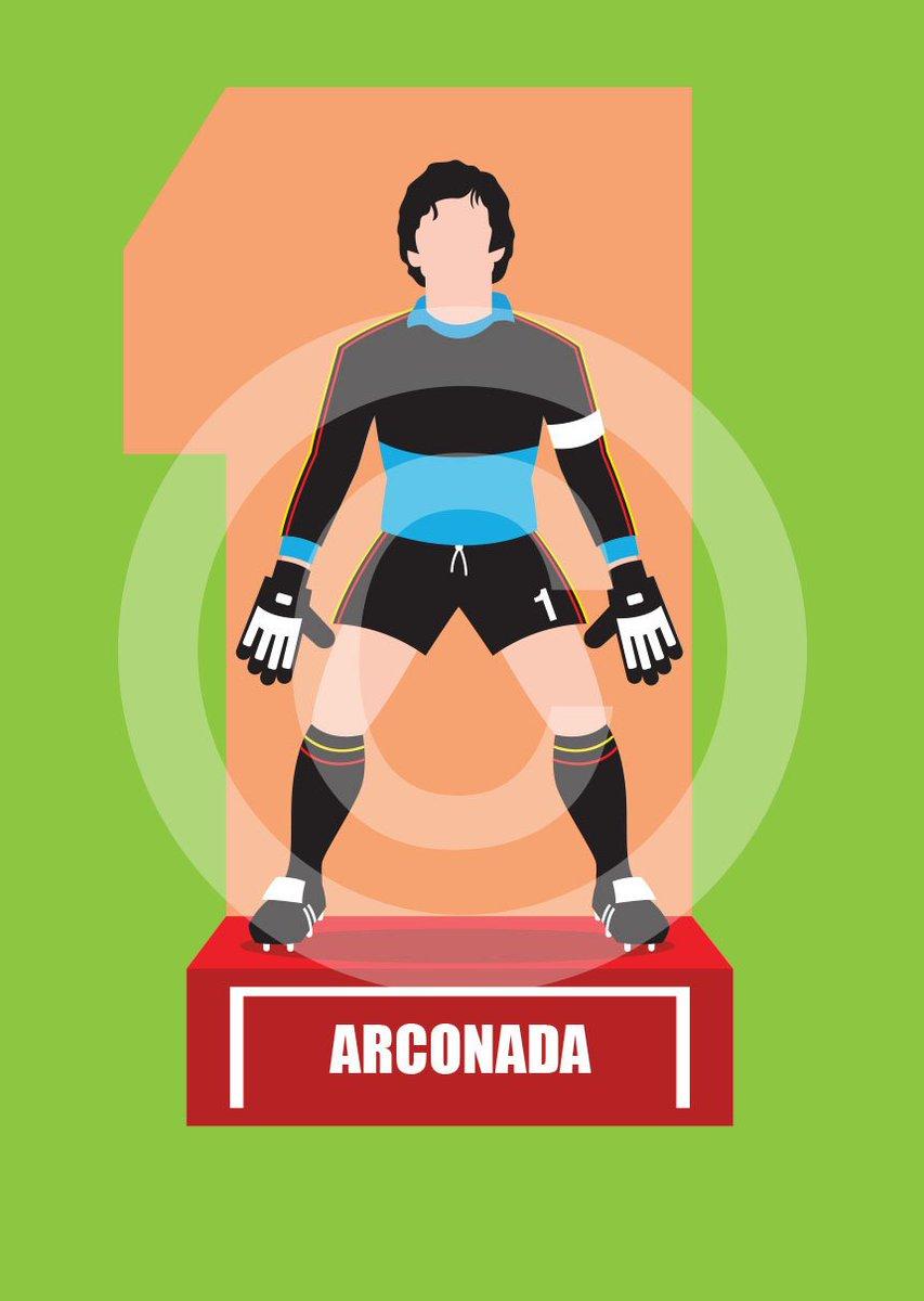 Some great #Spanish #goalkeepers here! #football #goalkeepersunion #arconada #casillas #zubizaertta #zamora #degea #Goalkeepers17  for lots more art &amp; t shirts please visit  http://www. theartofgoalkeeping.com  &nbsp;  <br>http://pic.twitter.com/SthDmurXa6