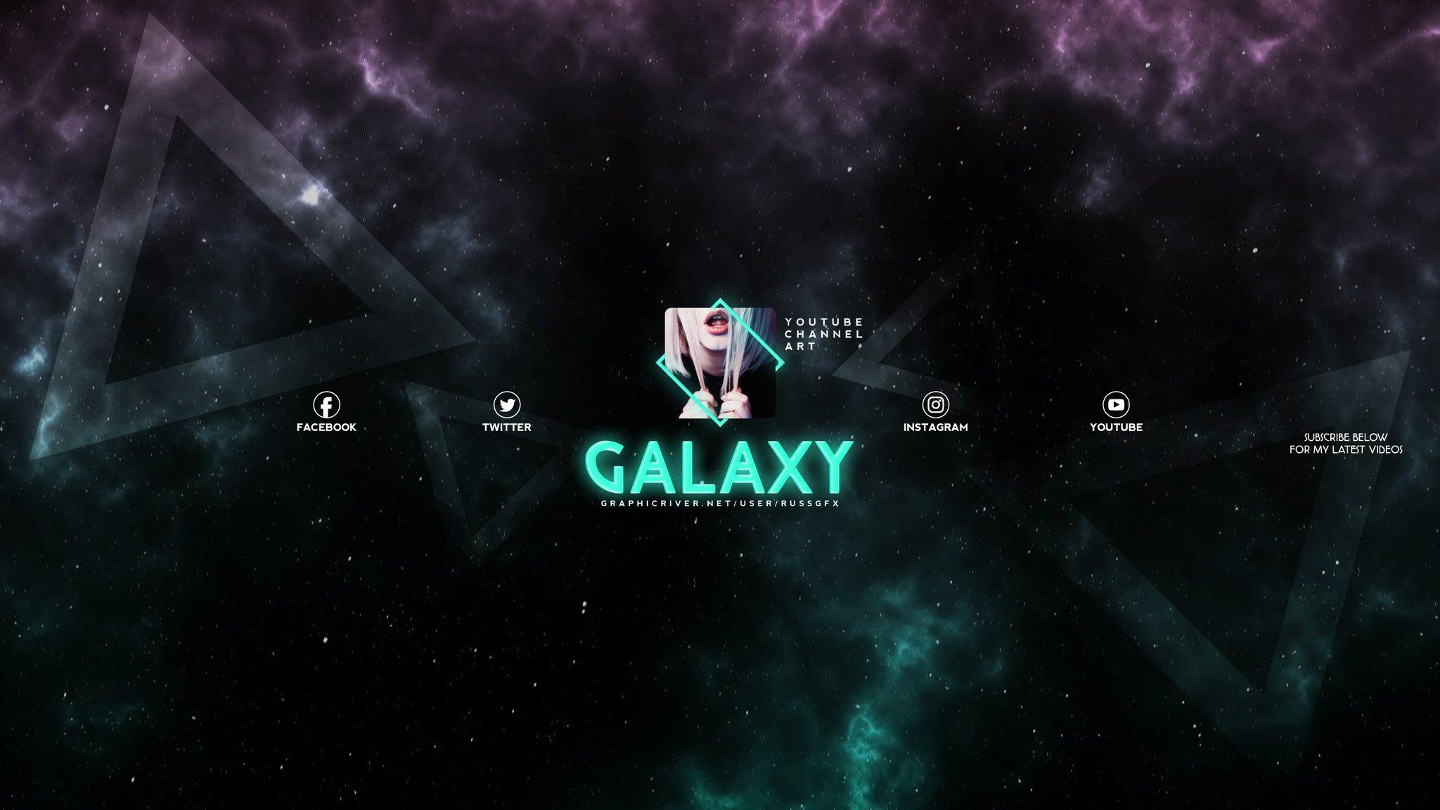 2048x1152 Youtube Banner Galaxy