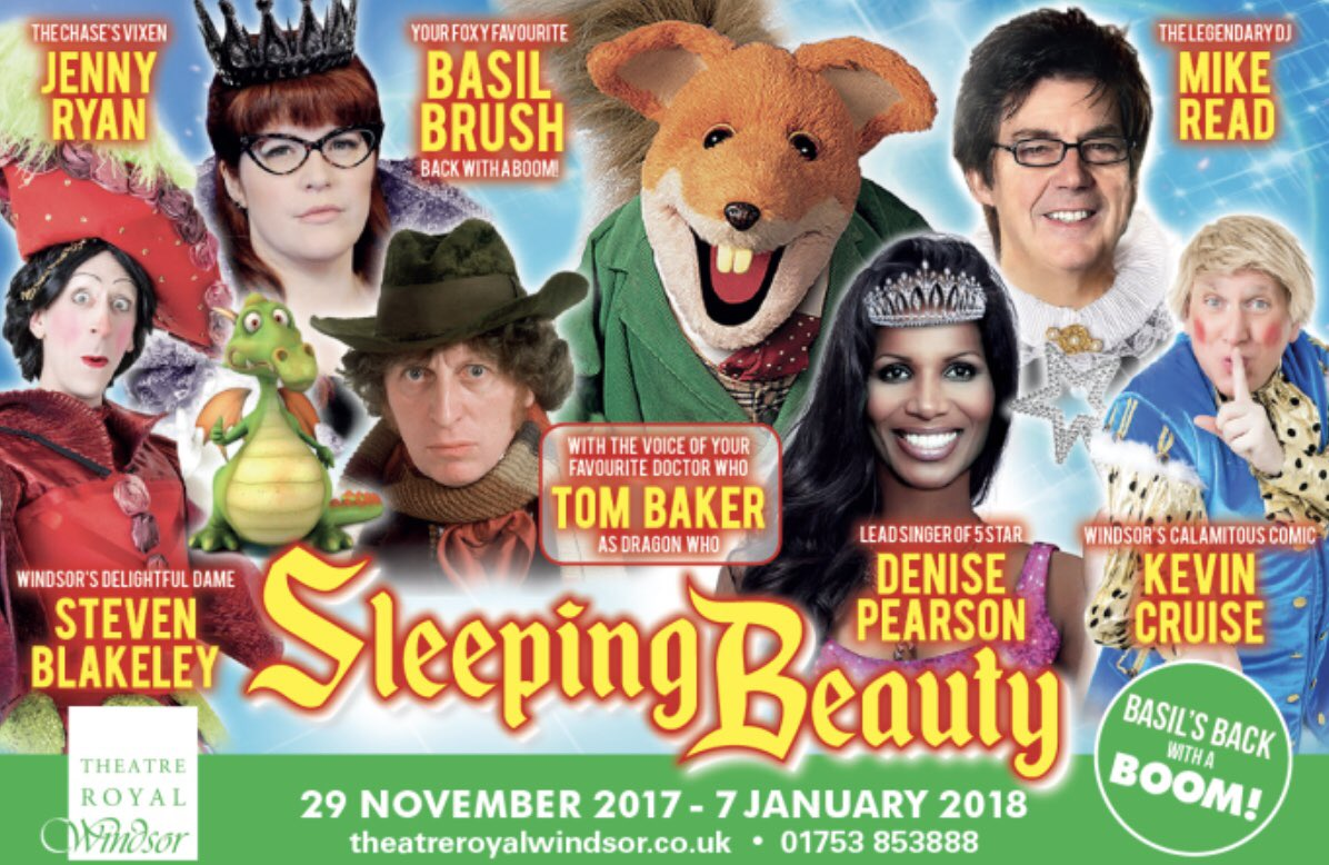 We have a full cast! Can't wait to start rehearsals on Monday. It's gonna be a fabulous year @realbasilbrush @MikeReadUK @MsDenisePearson @steven_blakeley @jenlion #windsor #pantomime @TheatreWindsor<br>http://pic.twitter.com/dwvFzqVLE0