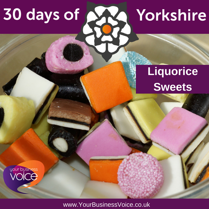 YBV&#39;s #30DaysofYorkshire - Liquorice Sweets - Liquorice herbs were brought to the UK in the 11th century from the Middle East. Pontefract, Yorkshire was the first place where #liquorice mixed with sugar was used as a sweet in the same way it is now. #YBV #YorkshireBiz <br>http://pic.twitter.com/vWrDEWNMqF