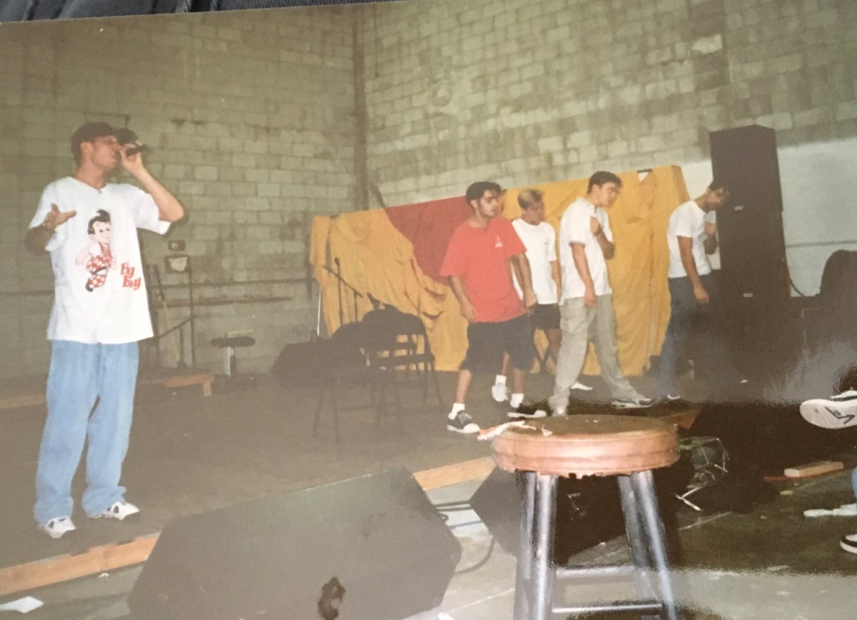 I never really do TBT so here is one the very first rehearsals of some group ... maybe more pics later https://t.co/Q3YylLSVbR