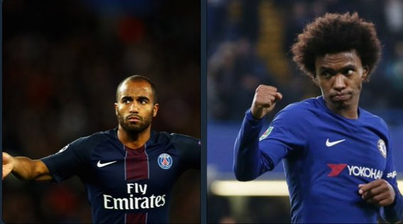 CalcioMercato | #Chelsea are preparing to offload Willian in January to AC Milan and are considering Lucas Moura as his replacement. #CFC<br>http://pic.twitter.com/zD7OI4pOne