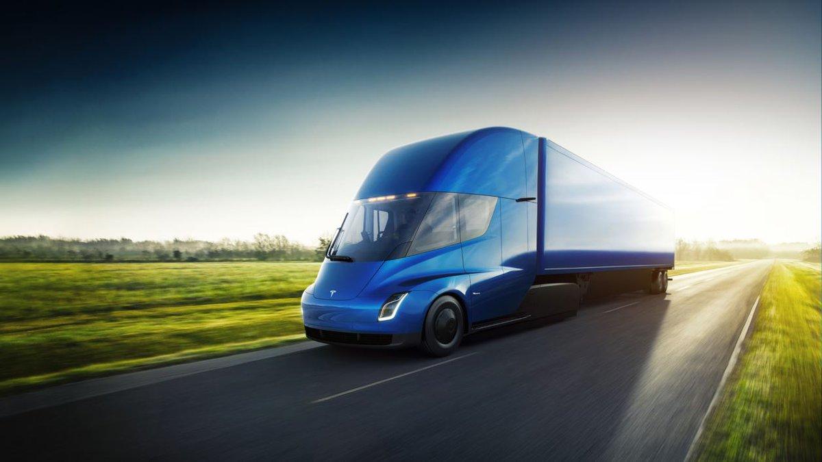 Tesla lève le voile sur son camion électrique:  https://t.co/01ECeT0lIo