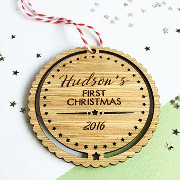#First #Christmas #Ornament - #Baby #Boy By Colour And Spice. Visit @  https:// goo.gl/pbgtQg  &nbsp;   #Christmasgifts #gifts #giftsideas #Melbourne #Australia<br>http://pic.twitter.com/6TiP7LuUgz