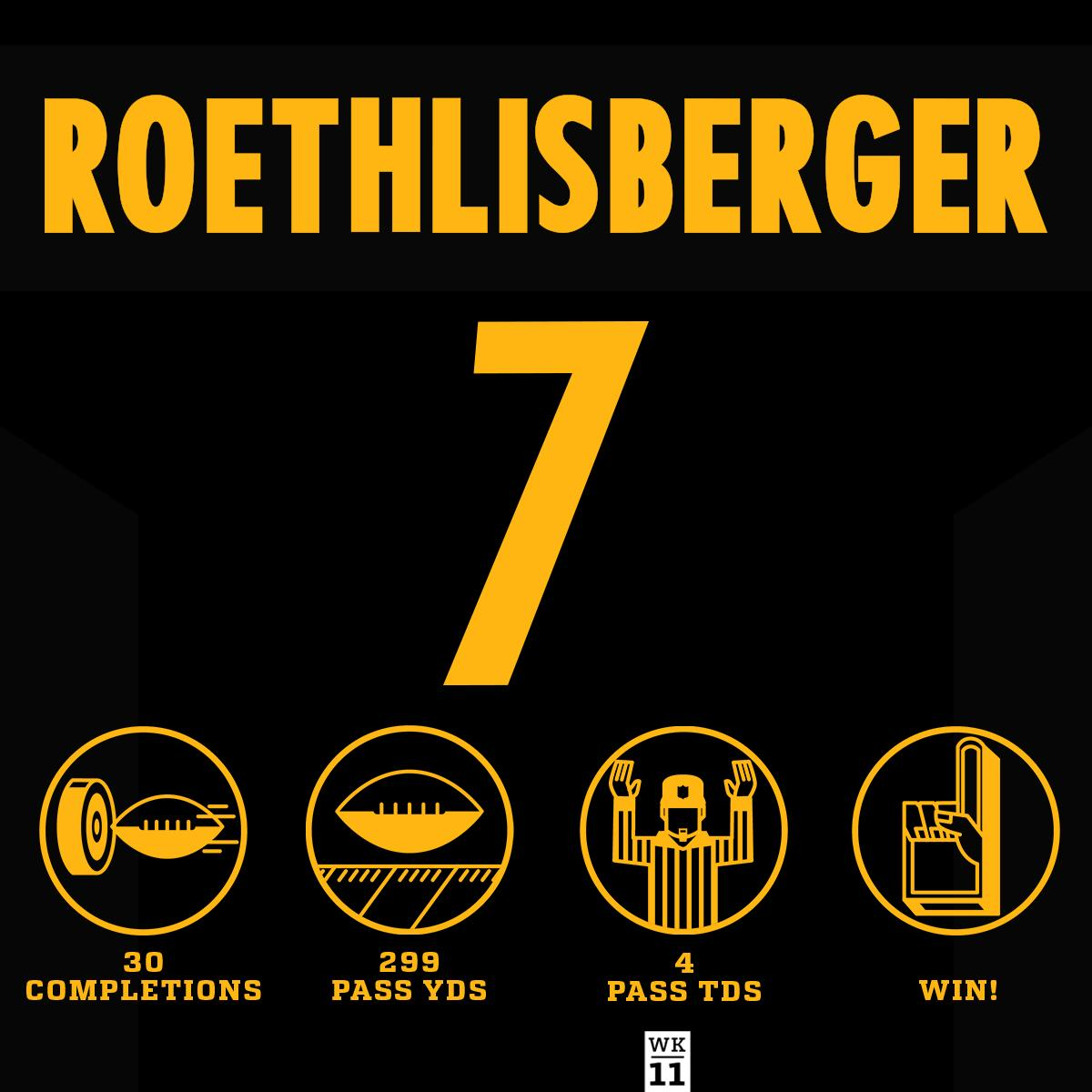 Big Ben with the 4 TD night! #HaveADay  #HereWeGo #TENvsPIT https://t.co/h1Pclxprdi