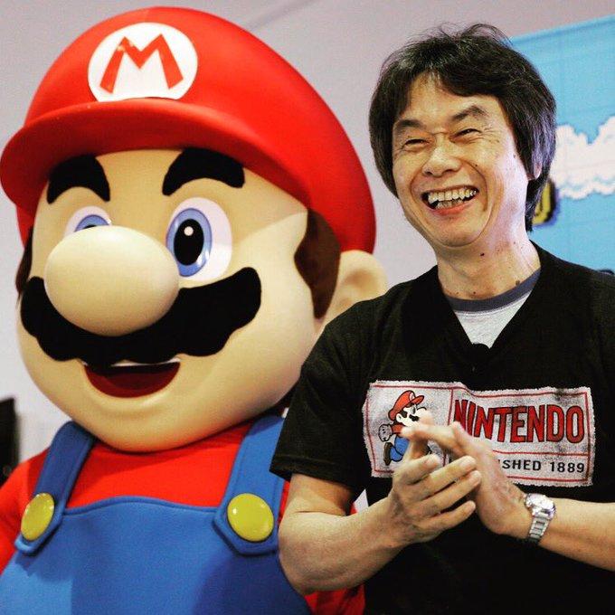 Happy 65th birthday Shigeru Miyamoto!