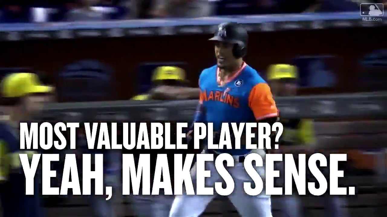 All �� were on @Giancarlo818 in 2017. He did not disappoint. #MVP https://t.co/EbOkeLwYje