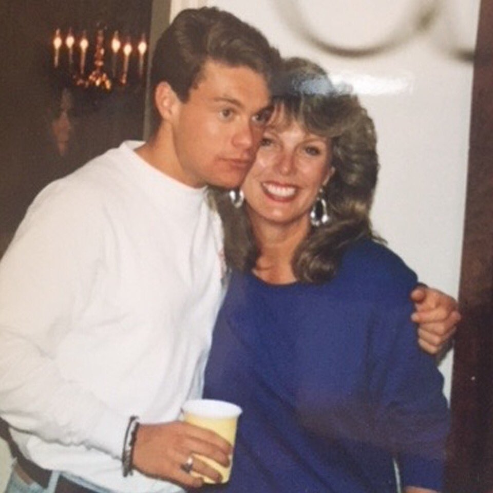 Mama's boy for life #tbt https://t.co/WQmPoTbHsd