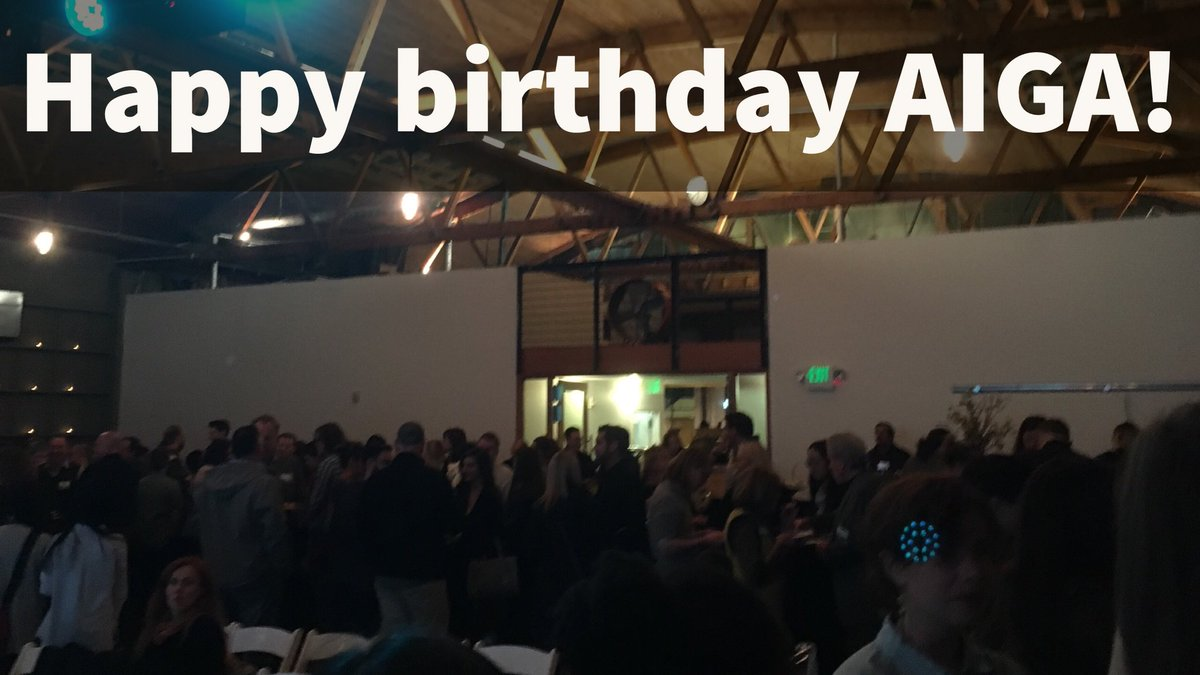 Happy 30th birthday #aigaseattle #aiga #aigadesign <br>http://pic.twitter.com/BlEvd0Gpfu
