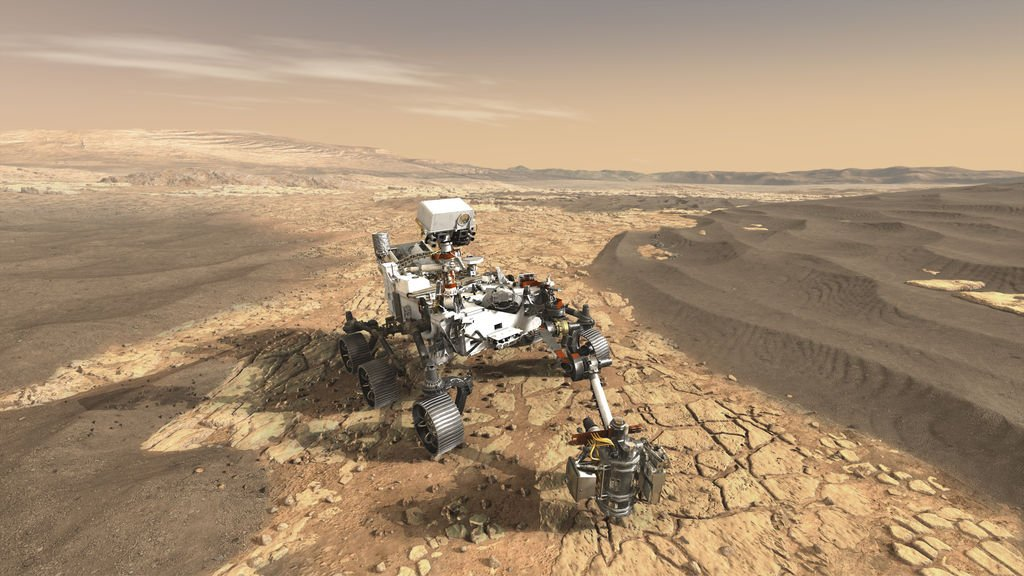 Live now! We're hosting a public talk about #Mars2020, @NASA's next Red Planet rover. Watch and chat at https://t.co/hsXVO1IKZO