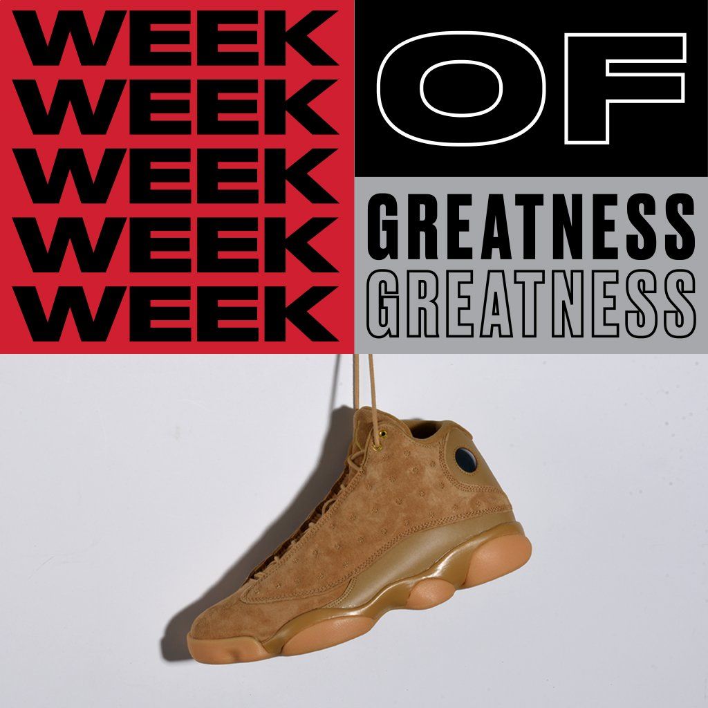 Golden   The Air #Jordan 13 Retro &#39;Wheat&#39; arrives in stores and online 11/21. App Reservations are open. | Stores:  http:// bit.ly/WOo74k  &nbsp;  <br>http://pic.twitter.com/jUVKCKCSbZ