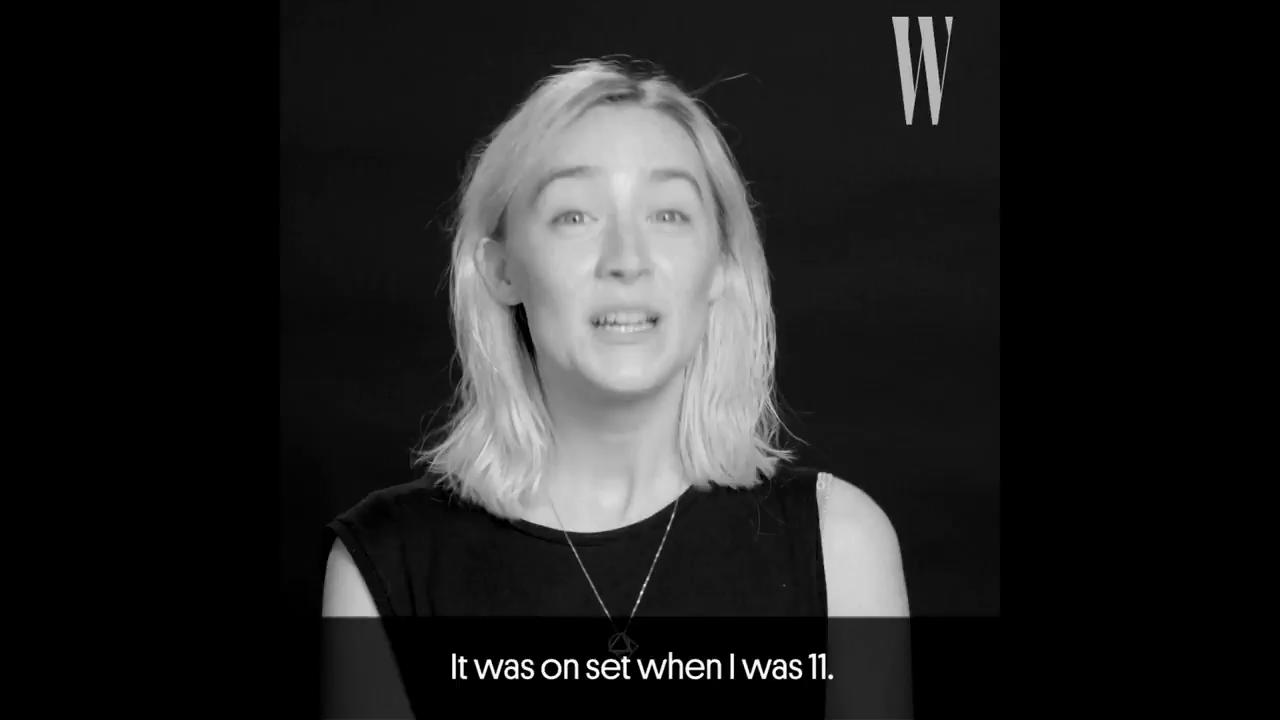 """""""My first kiss was on set. I was like proper prude, as well; I was not ready to kiss a boy."""" https://t.co/EWoVyYG7wo"""