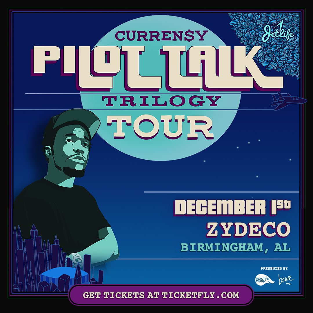 #Clubhouse Performing live @CurrenSy_Spitta #PilotTalktTrilogyTour  12/1  Birmingham • Hit us for tickets<br>http://pic.twitter.com/9wddUEqCyG