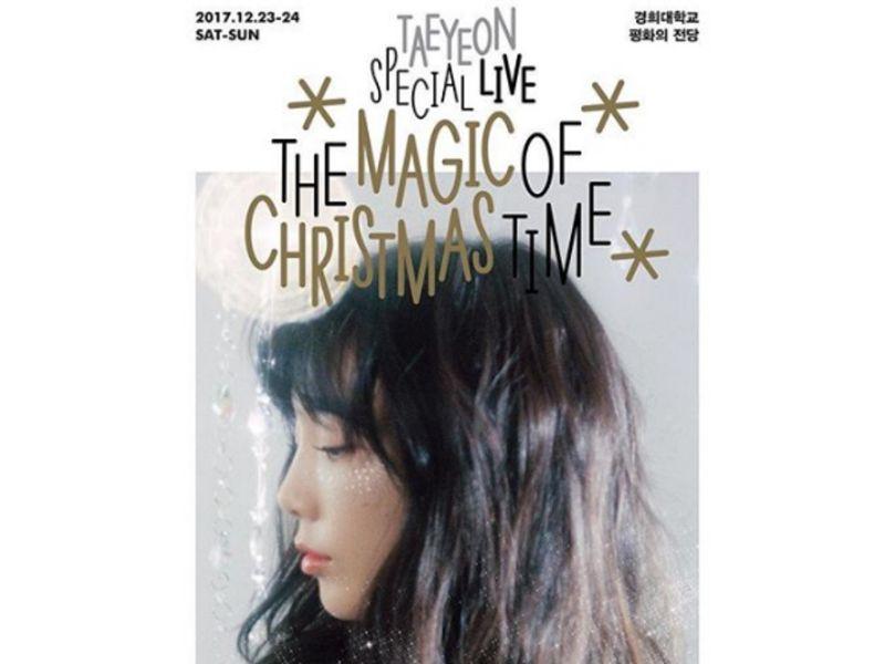 #GirlsGeneration #Taeyeon to release Christmas album https://t.co/WCAFFa2b7e