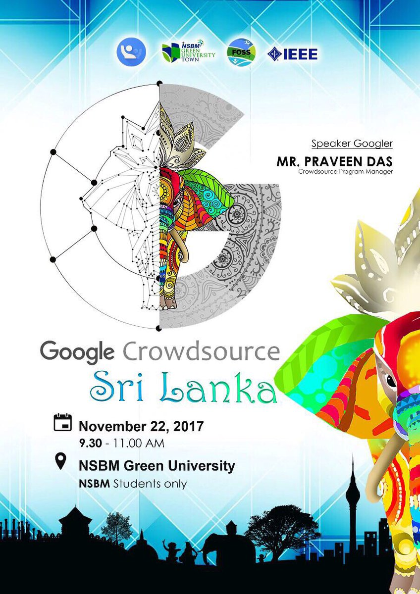 Dhananja Y Lekamge On Twitter Welcome To A Brand New Experience With Google Nsbm Green University Registration Is Now Opened Only For Nsbm Green Uni Students Catch The Event On Https T Co S7x1inixoj Stay
