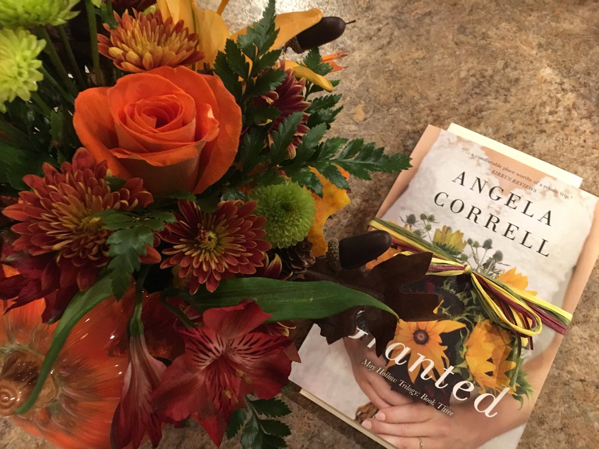 Two bright spots in my day today: Flowers from my husband and the newest book from @angela_correll. Can't wait for Thanksgiving Break to read it! #toread #booksandflowers #Granted #trilogy #bookpic <br>http://pic.twitter.com/sEi1FuTcm7