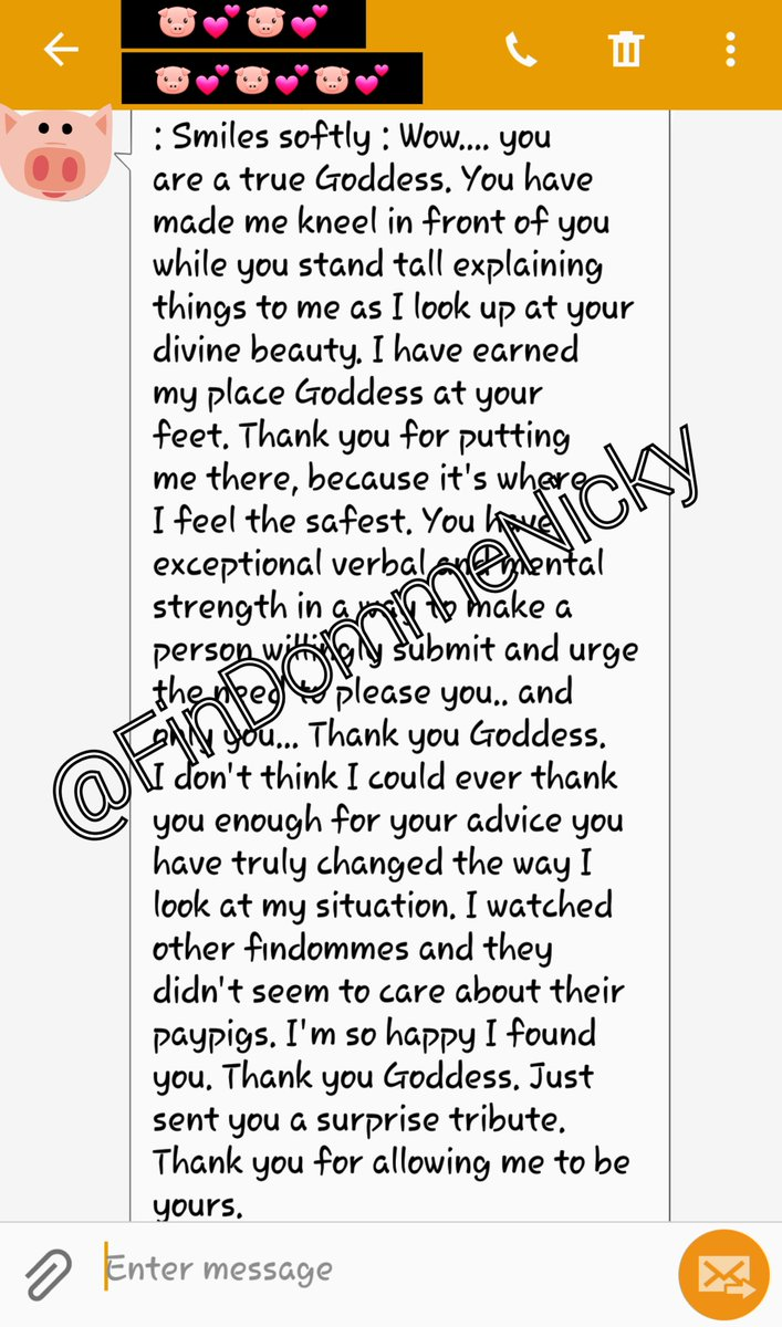 If a #finsub is into humiliation and degradation, remember that some form of aftercare is important. Not all #FinDom looks the same.   Lovely message from my finsub...  #paypig  #humanATM  #FinDomme #financialdomination #care4yourfinsub #RACK #SSC<br>http://pic.twitter.com/CN6XOnz7b7
