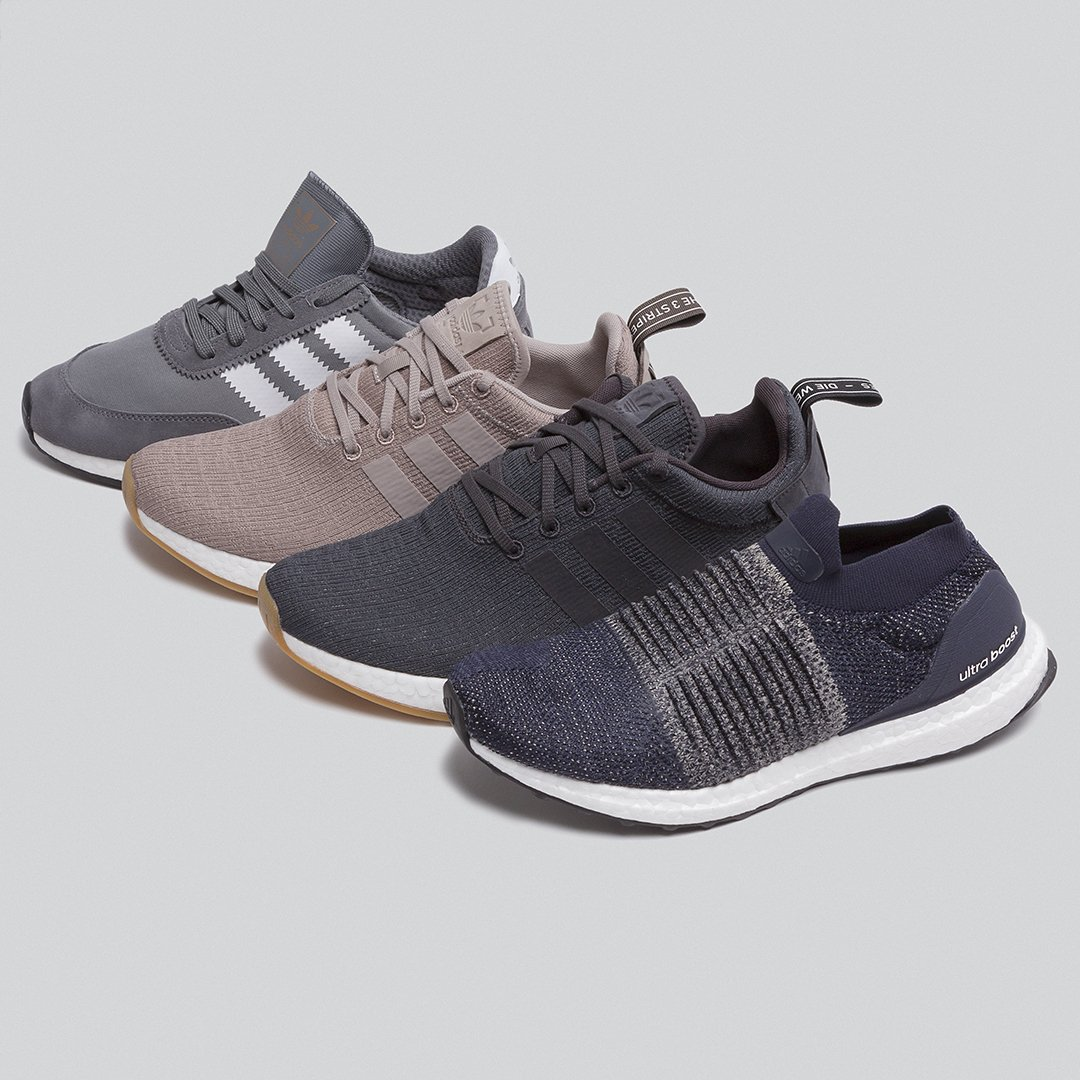 Four new pairs of adidas sneakers are
