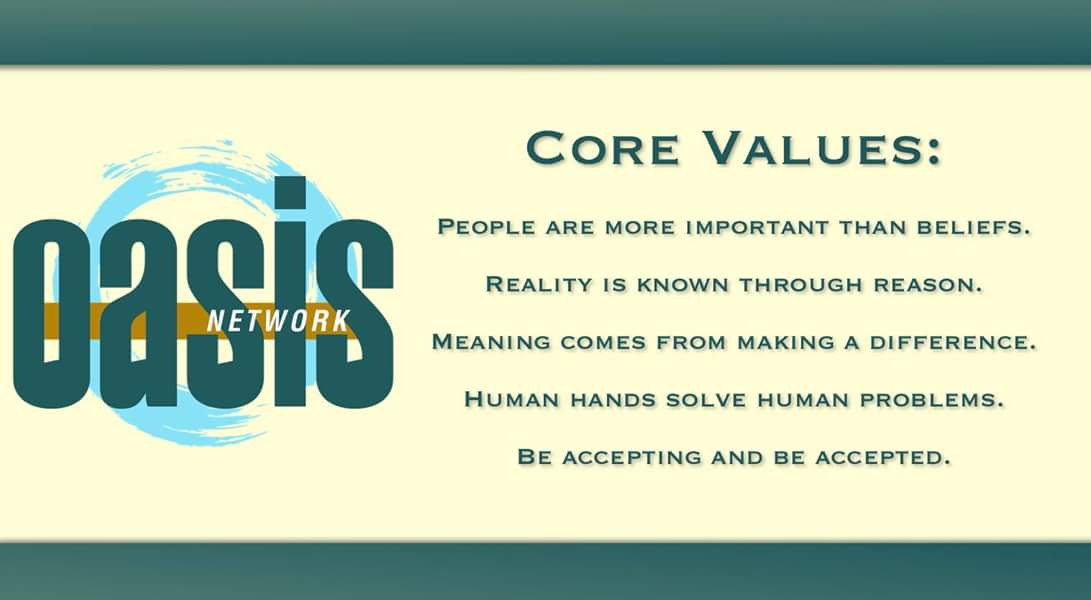 What's you're favorite core value? #secular #humanism #freethought #atheist #community