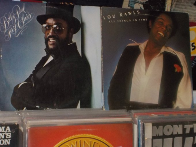 Happy Birthday to the late Billy Paul & the late Lou Rawls