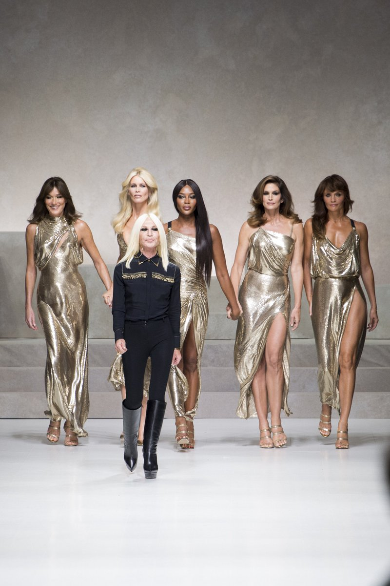 DID YOU SEE? Donatella @Versace will be...