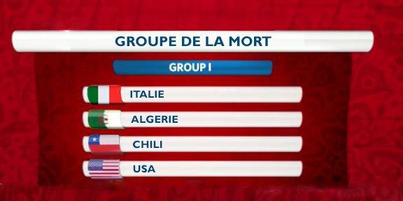 BREAKING !  On connaît LE groupe de la mort de la Coupe du Monde 2018 #TirageAuSortCM