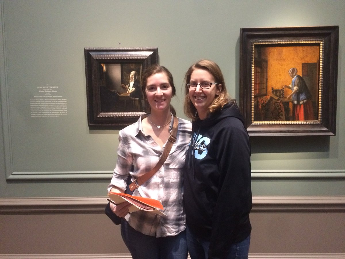 Field trip to see the Vermeer show <a target='_blank' href='http://twitter.com/ngadc'>@ngadc</a> <a target='_blank' href='http://twitter.com/YorktownPhoto'>@YorktownPhoto</a> <a target='_blank' href='https://t.co/0DdxMcOTRE'>https://t.co/0DdxMcOTRE</a>