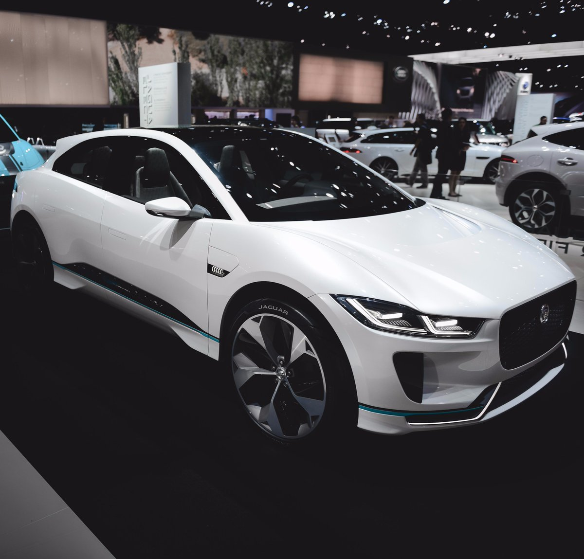 A future you can look forward to. #IPACE The @LAAutoShow is officially supercharged thanks to the I-PACE, our first all-electric vehicle ever. #LAAS Photos by: Cole Younger https://t.co/PnW5G34wN7