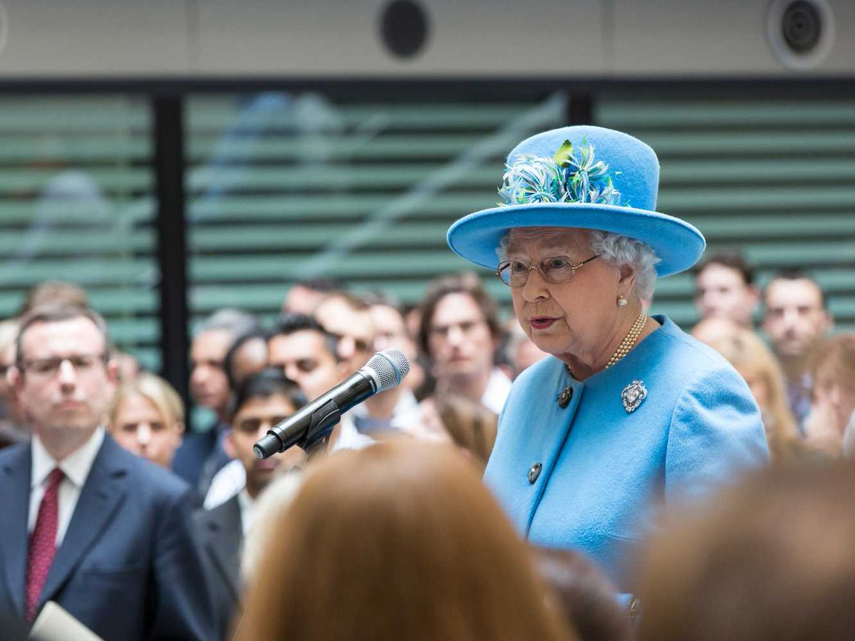 Queen Elizabeth II does not have a passport despite visiting over 115 countries and does not have a drivers license despite driving. https://t.co/CExSWSgOcz