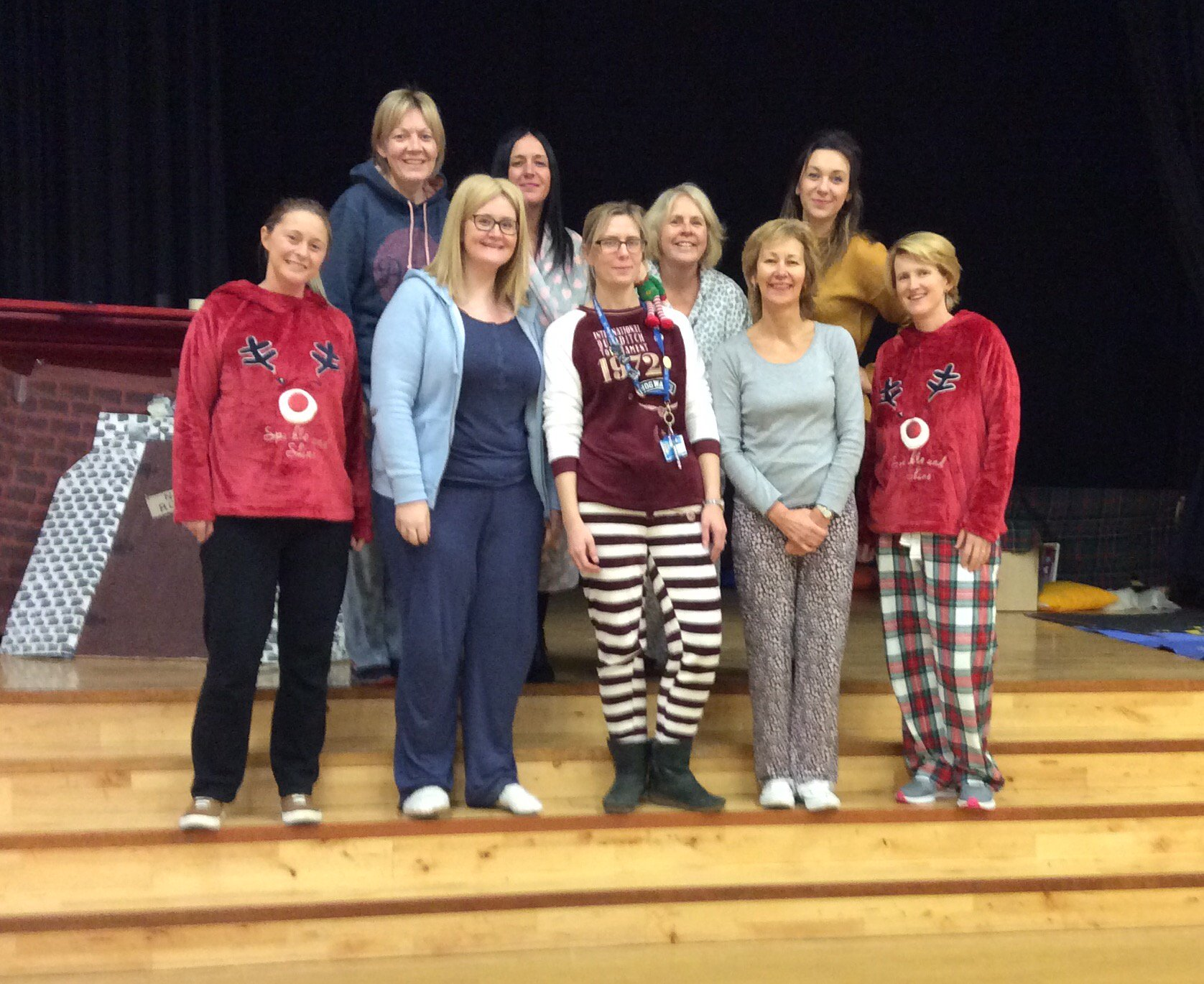 Even the teachers wore their pyjamas to school today #teamburgh ������ https://t.co/ermSh48RsG