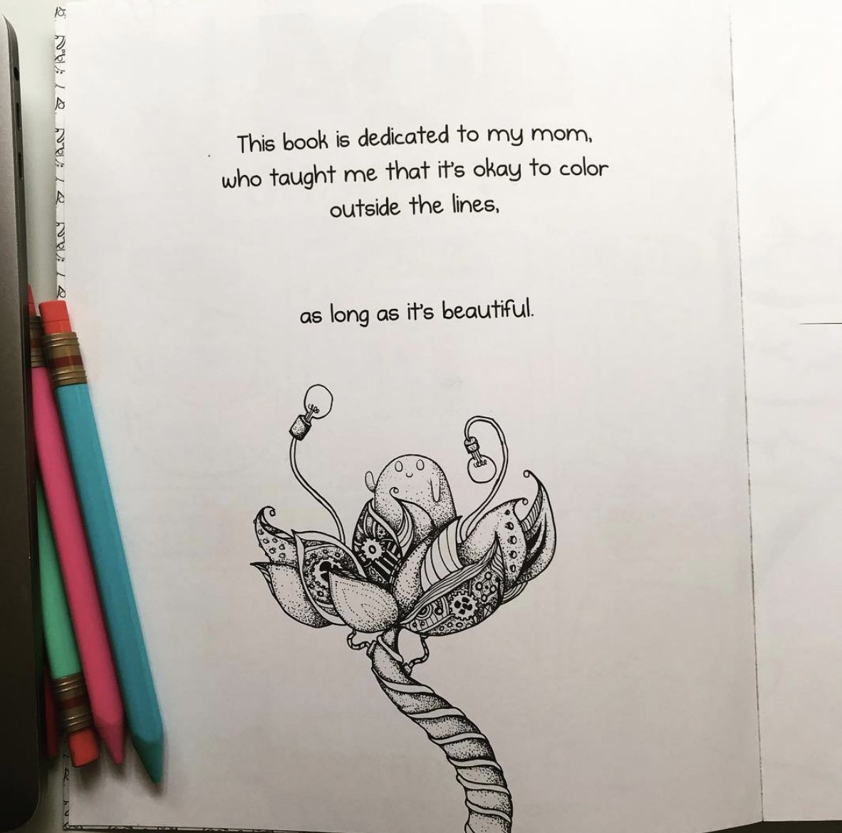 Matthew Inman On Twitter The Dedication Page From My Coloring Book