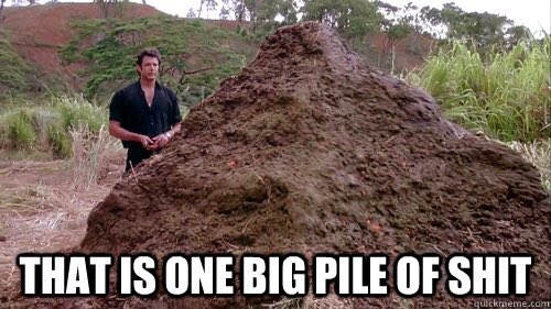 Image result for that is one big pile