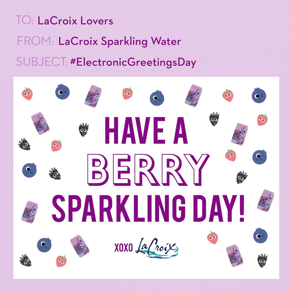 Lacroix Water On Twitter Check Your Inbox Tag Someone In The