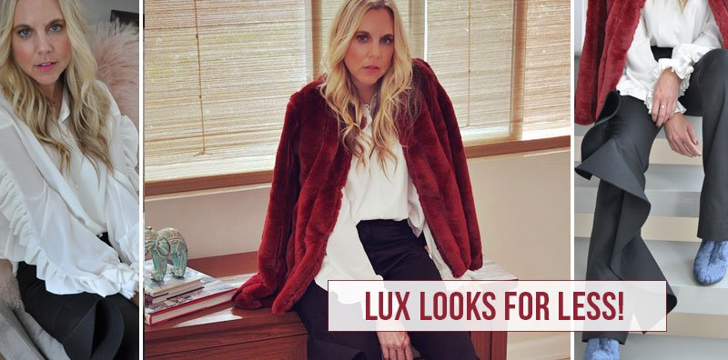 Lux looks for Less!  When the holidays come, I have so many fun parties and lots of different outfit changes. I ...