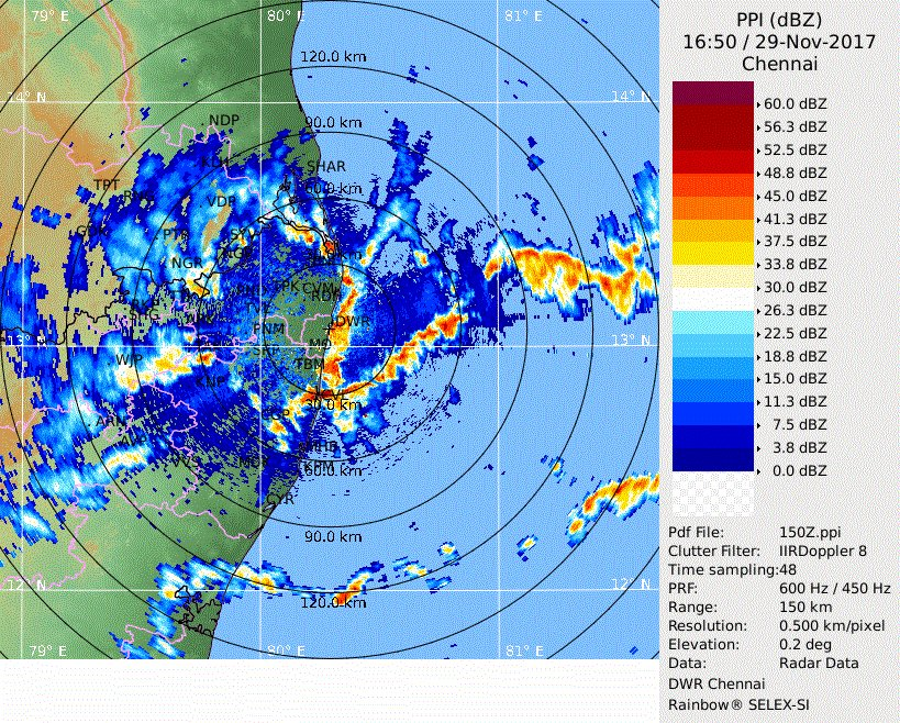 Heavy Downpour will happen in Tamil Nadu once again - Stay Safe!