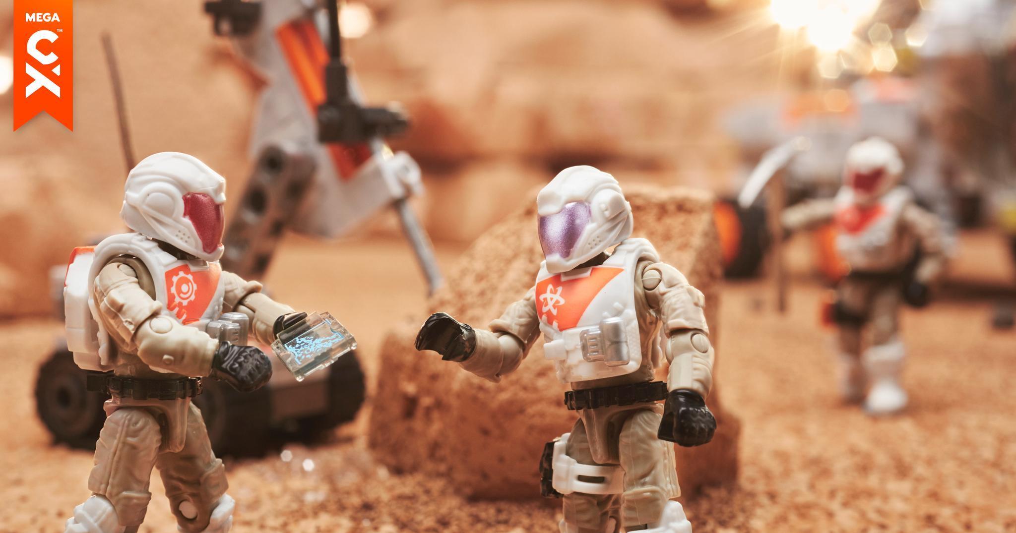Mega Construx Probuilder Space Rover Expedition