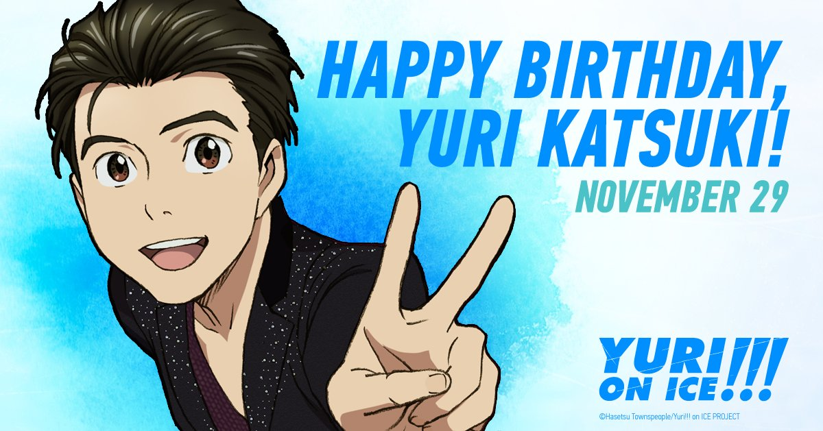 yuri katsuki birthday Crunchyroll 💕 on Twitter: