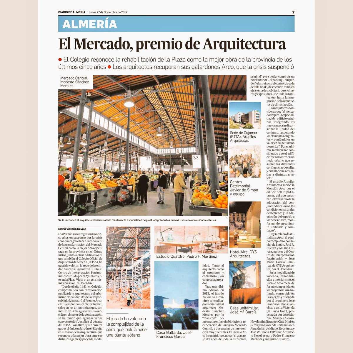 Arquitectos En Almeria. Top Ap House Mvn Arquitectos Courtesy Of Mvn ...