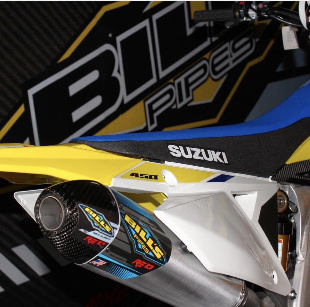 A1 can come soon enough! #RMZ450 #billspipes #RE13 🔥🔥@HEP_motorsports