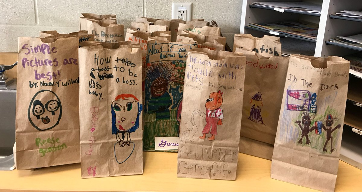 paper bag book report first grade Be turned in for a test grade bottom of the bag, please put your first and last name paper bag book reportdocx.