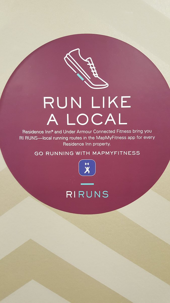 Did you know that @ResidenceInn is partners with @MapMyFitness so you can #RunLikeALocal? Find a #RIRuns route today! http://bit.ly/28K3txQ    #WorkoutWednesday #TravelandFitness #Run #Minneapolis #TwinCitiespic.twitter.com/pW2oN4mbcK
