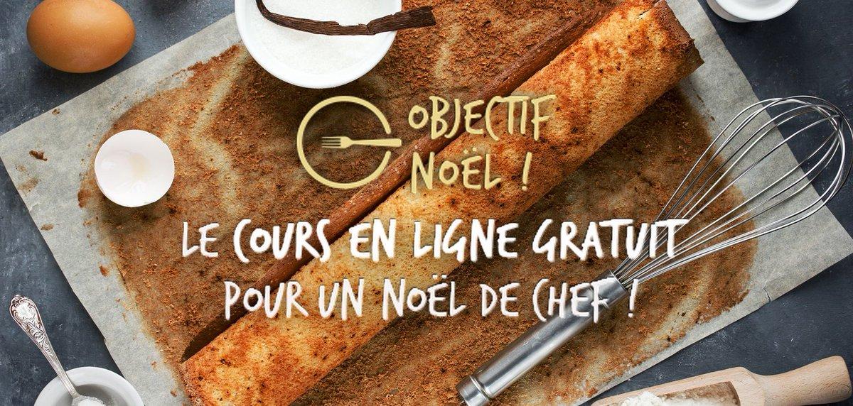 LAcadémie Du Goût On Twitter On Vous Coache Pour Noel Avec - Cours de cuisine en ligne gratuit