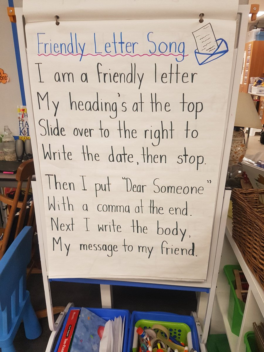 Miss Samra On Twitter Using The Friendly Letter Song To Learn