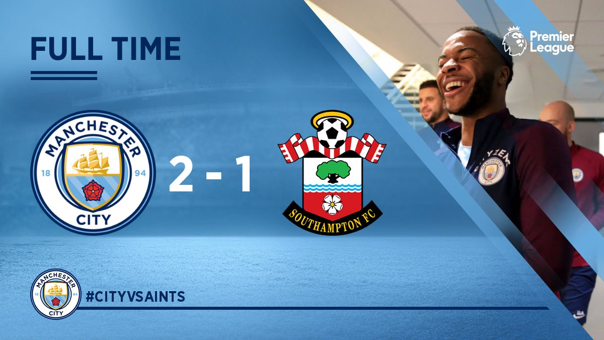 Chấm điểm trận Manchester City 2-1 Southampton