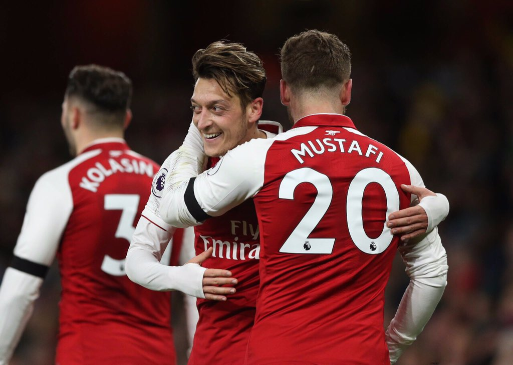 Arsenal 5-0 Huddersfileds