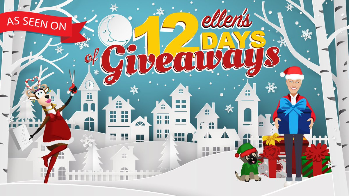 Thank you to The Ellen DeGeneres Show for including Shark in the #12Days of Giveaways!