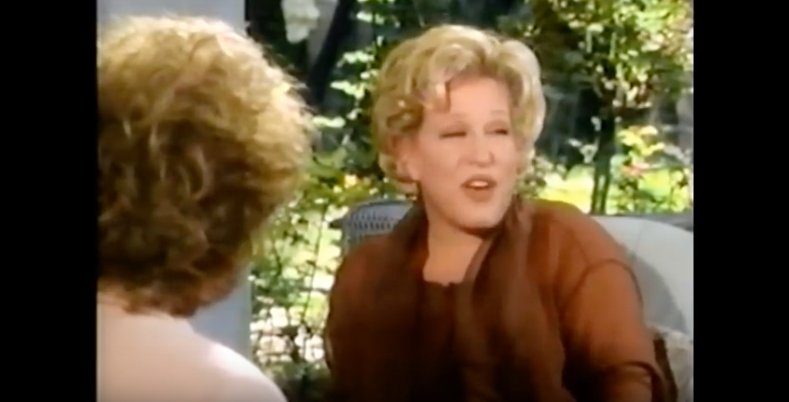 Here's Bette Midler in 1991 talking about Geraldo Rivera drugging and groping her without her consent https://t.co/GAH9kKQuaS