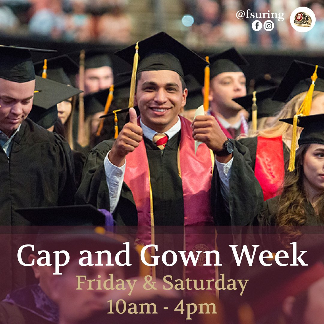 Fsu Saa On Twitter Cap And Gown Week Come Out Friday And Saturday